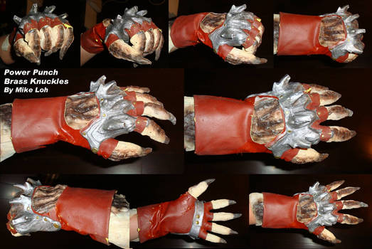 Power Punch Knuckles Gloves