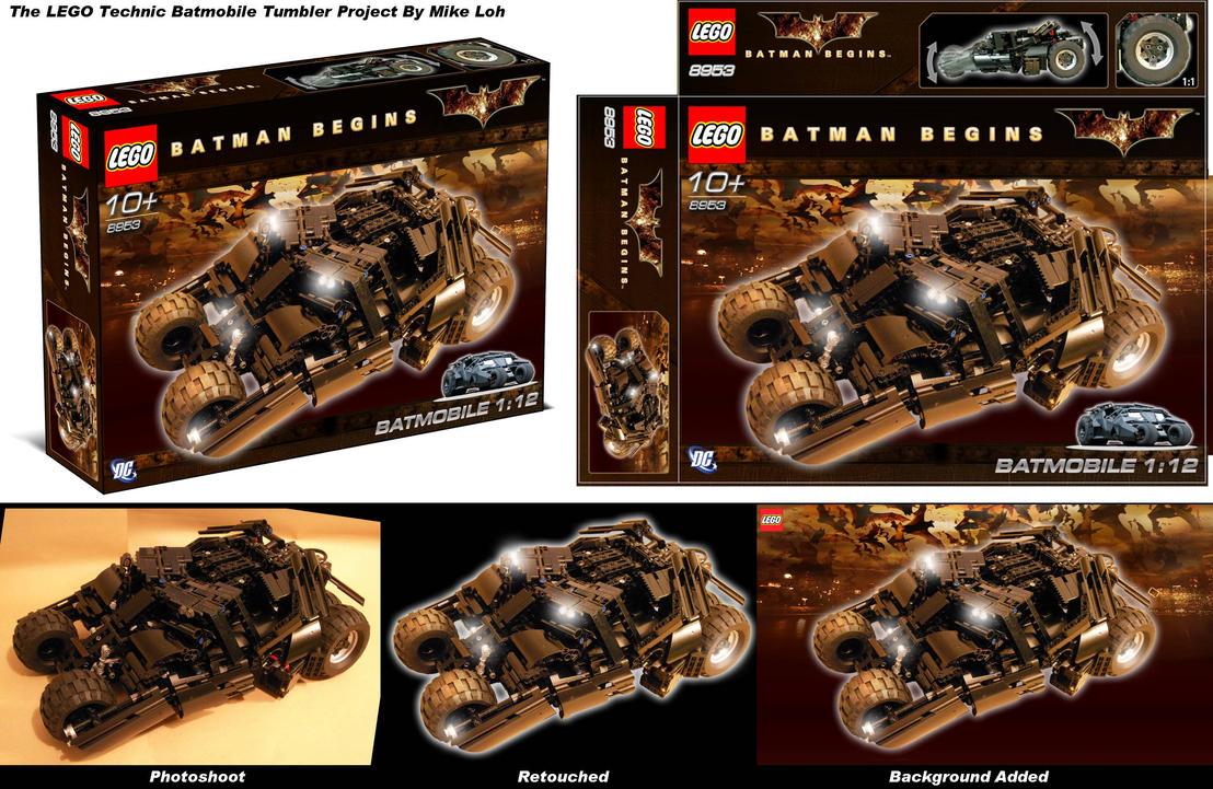 Batmobile Tumbler Package Mock by Uratz-Studios