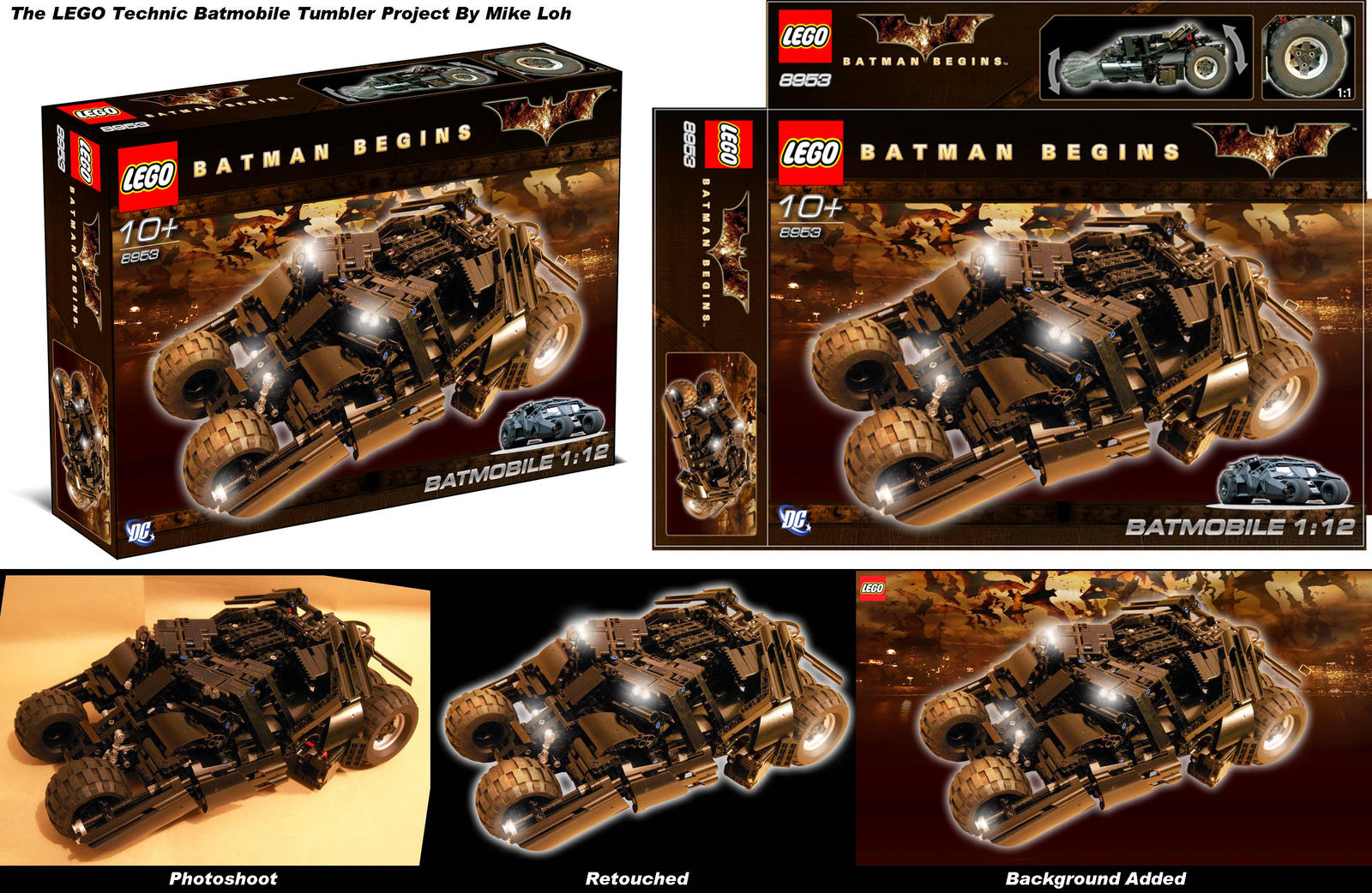 Batmobile Tumbler Package Mock by Uratz-Studios