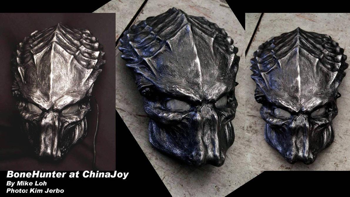 BoneHunter Helmet Black by Uratz-Studios