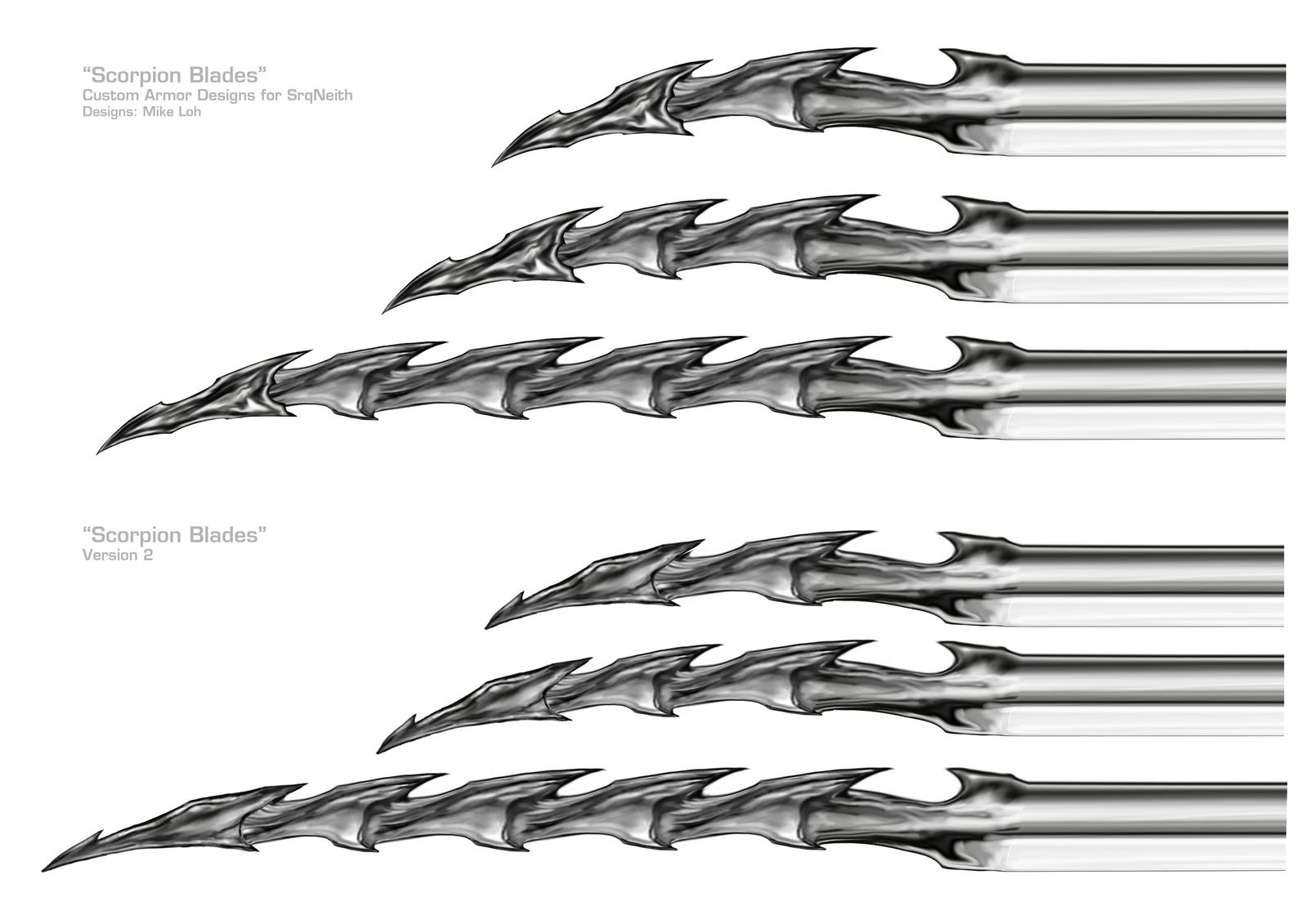 Scorpion blades by uratz studios on deviantart - Uratz studios ...
