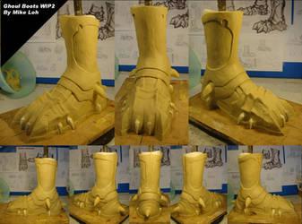 Ghoul Hunter Boot WIP2 by Uratz-Studios