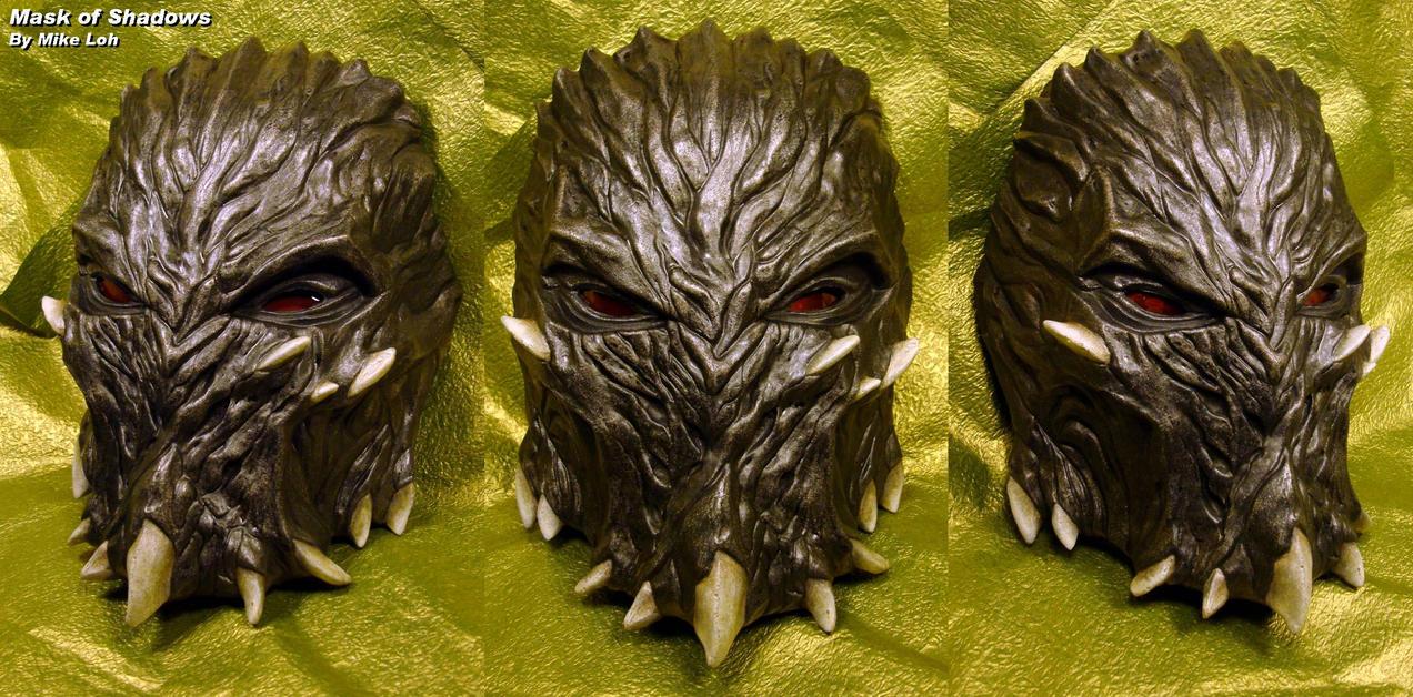 Mask of shadows painted by uratz studios on deviantart - Uratz studios ...