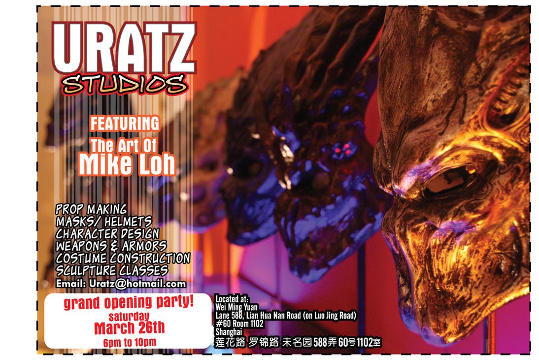 Uratz studios grand opening by uratz studios on deviantart - Uratz studios ...