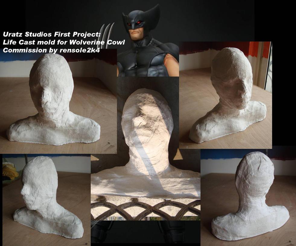 Wolverine cowl project lifecas by uratz studios on deviantart - Uratz studios ...