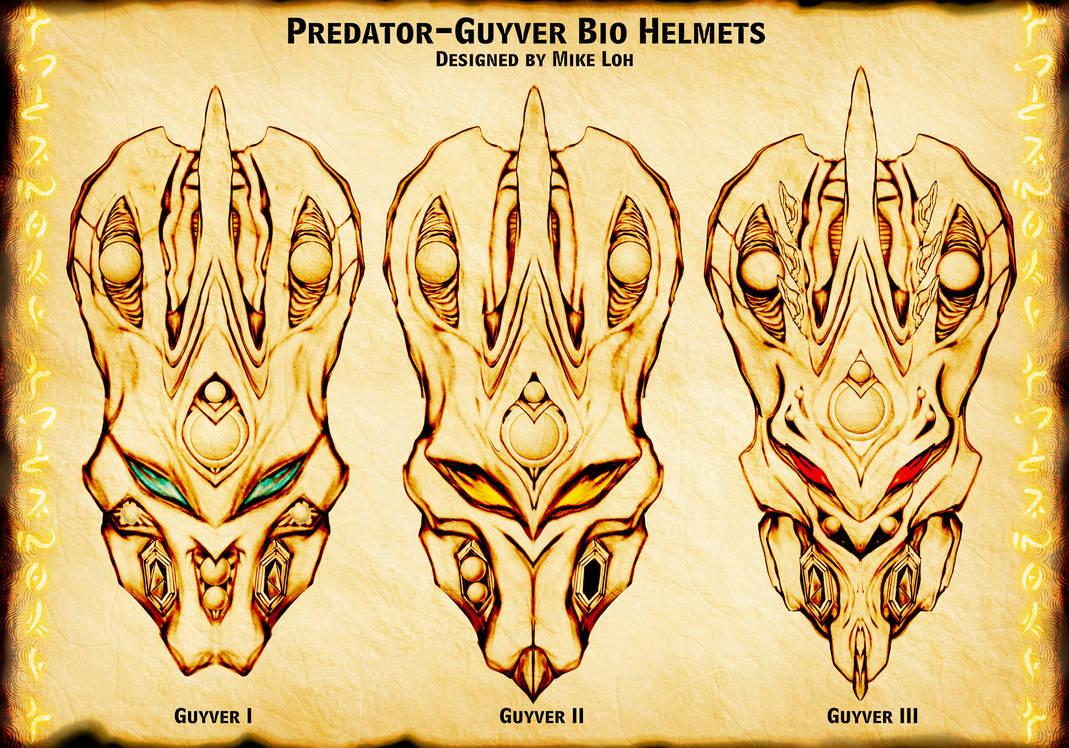 PredaGuyver Units The 3 Types by Uratz-Studios on DeviantArt