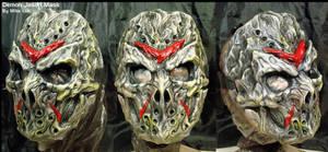 White Demon Jason Mask