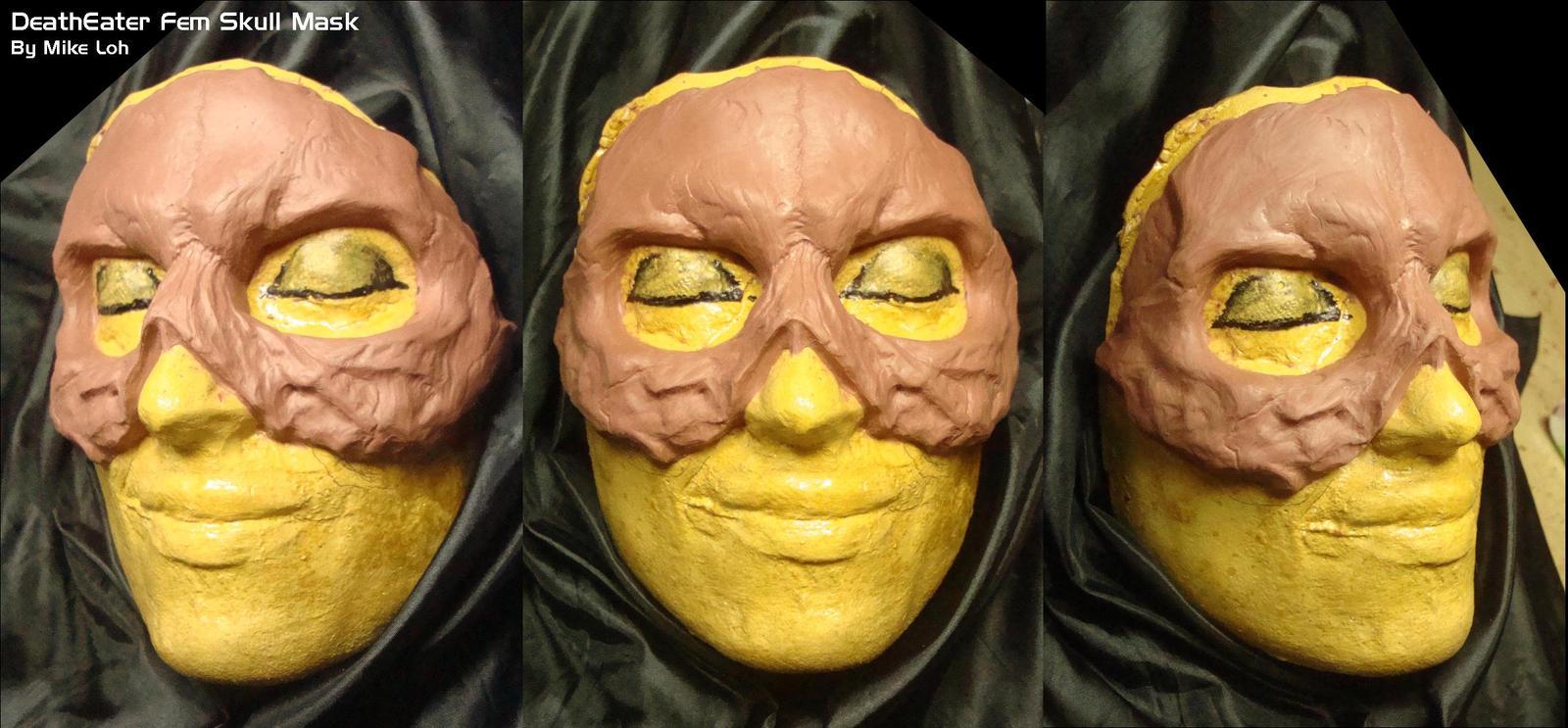 Deatheater fem skull wip1 by uratz studios on deviantart - Uratz studios ...