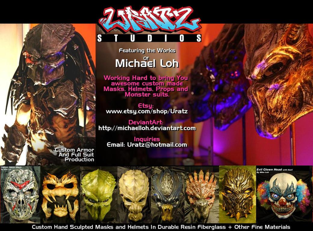 Uratz custom masks n suits ad by uratz studios on deviantart - Uratz studios ...