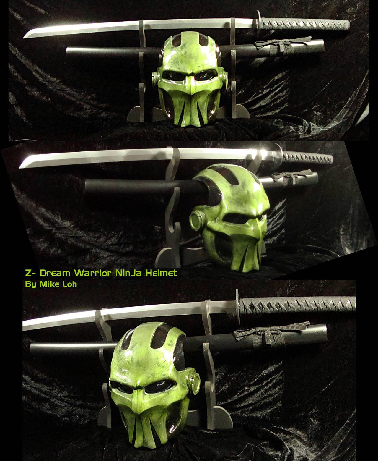Z sword ninja helmet by uratz studios on deviantart - Uratz studios ...