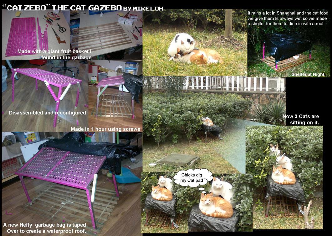 Catzebo the cat gazebo by uratz studios on deviantart - Uratz studios ...