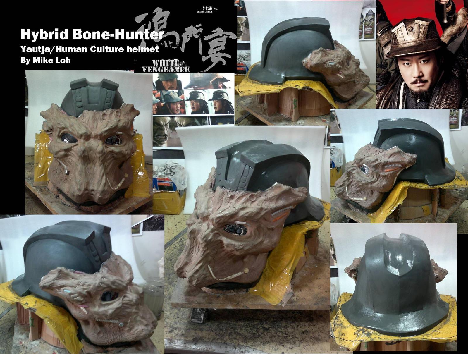 Bonehunter hybrid helmet by uratz studios on deviantart - Uratz studios ...