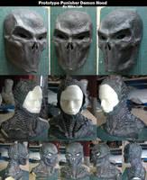 Punisher Demon Hood Prototype by Uratz-Studios