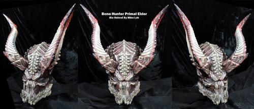 BoneHunter Primal Elder Bio Helmet 01 by Uratz-Studios
