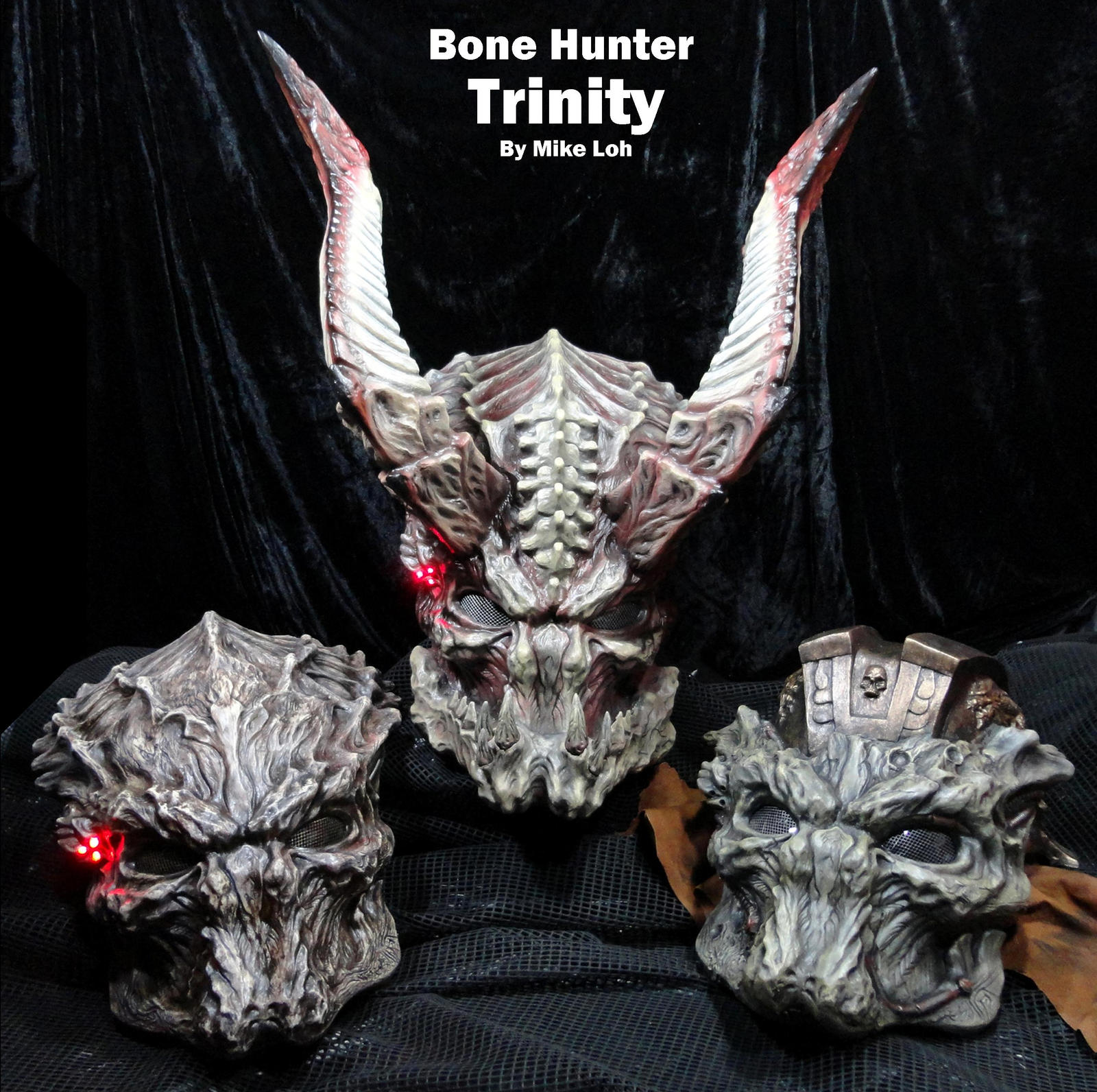 legend of the bonehunter predator helmet