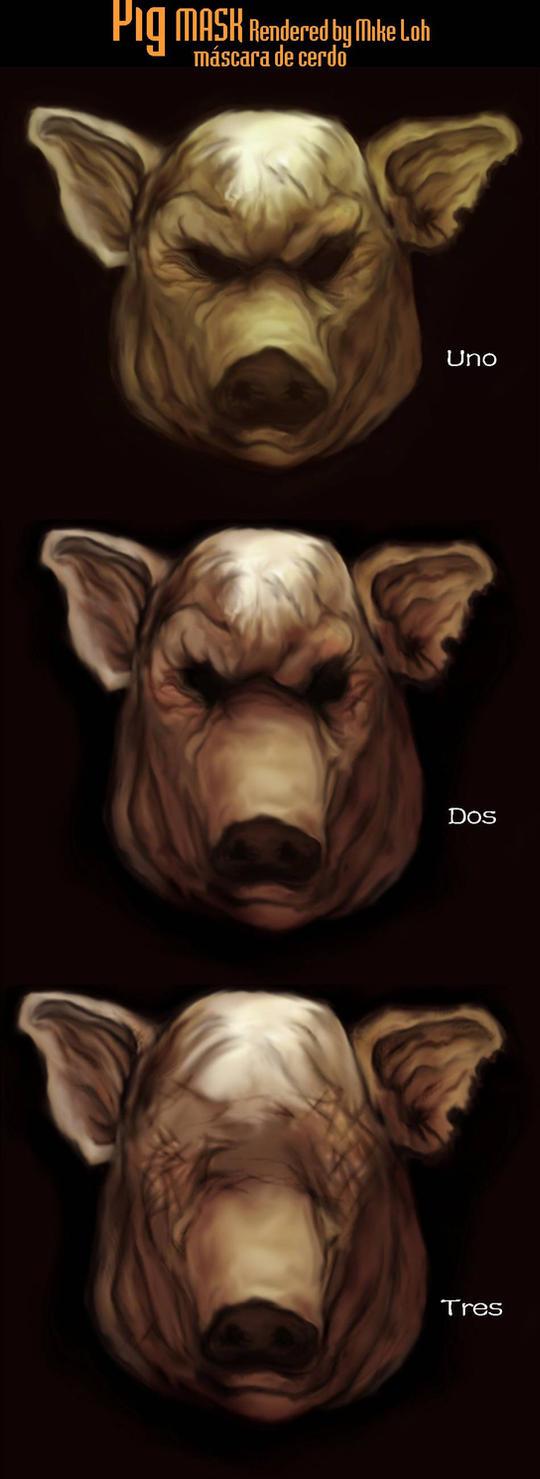 Demented pig by uratz studios - Uratz studios ...