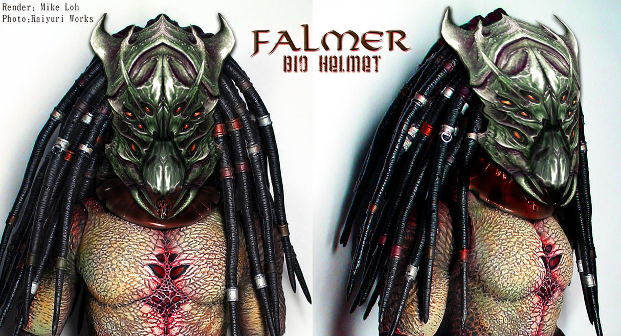 Falmer Bio Helmet Closed Mouth by Uratz-Studios