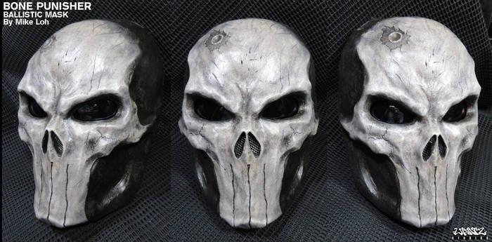 Bone Skull Punisher Ballistic Mask