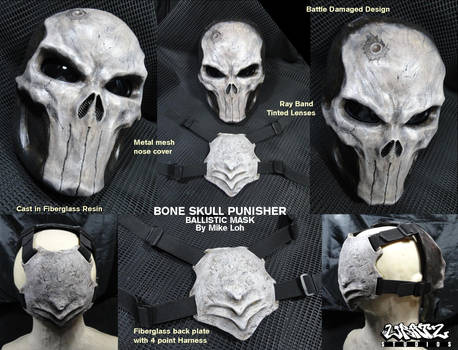 Bone Skull Punisher Details