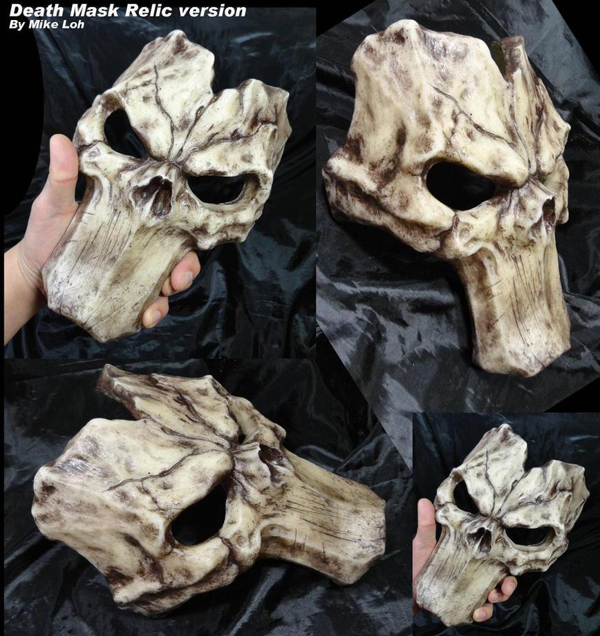 Death Mask Relic by Uratz-Studios