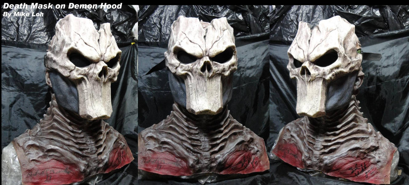 Death Darksiders Mask Death Mask from...