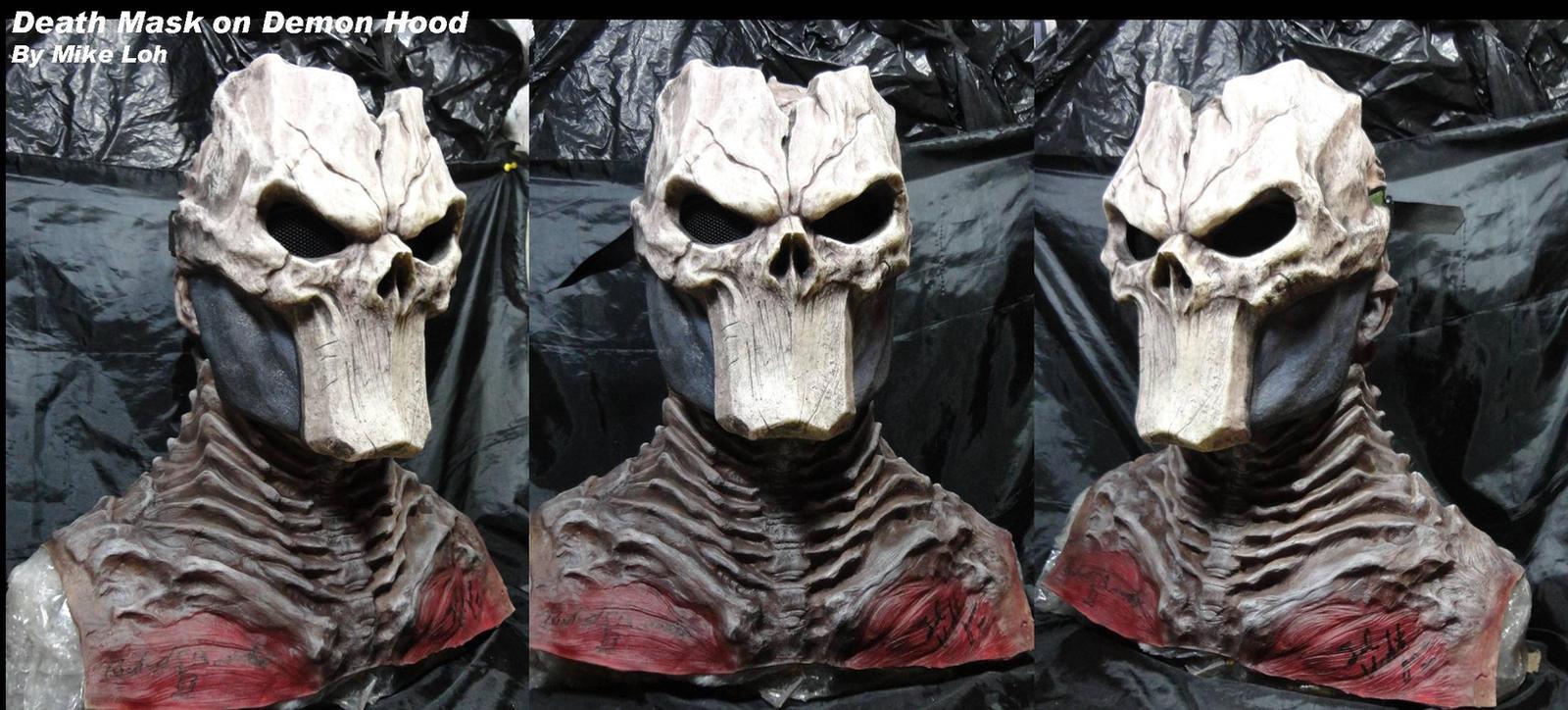 Death Mask with Demon Hood by Uratz-Studios