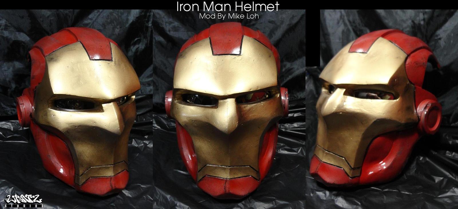 Iron Man Helmet Drawing Iron Man Helmet