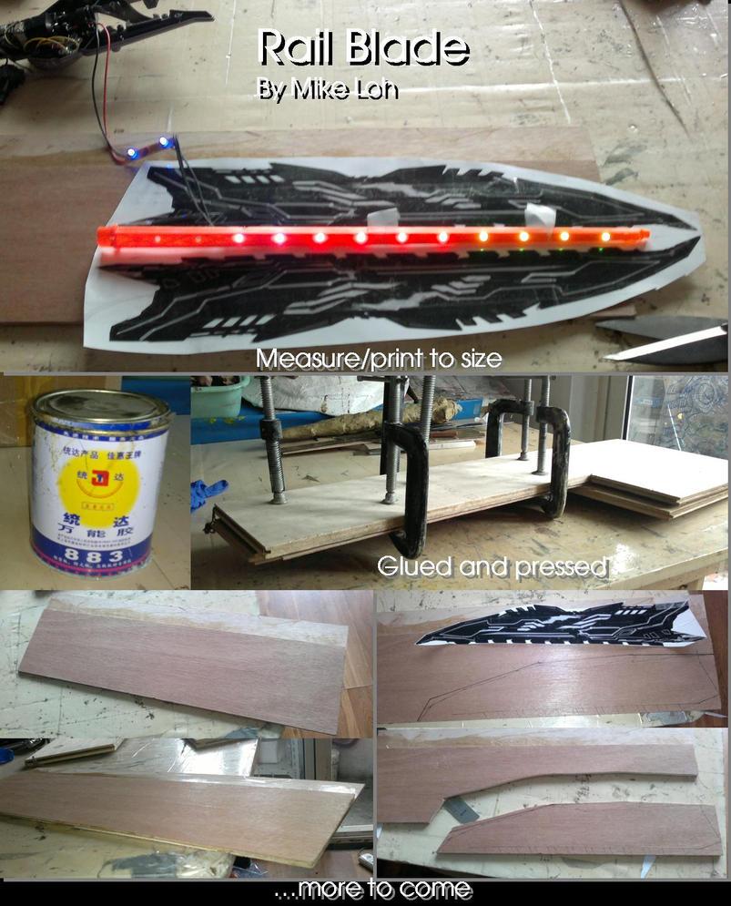 Ion rail blade wip by uratz studios on deviantart - Uratz studios ...