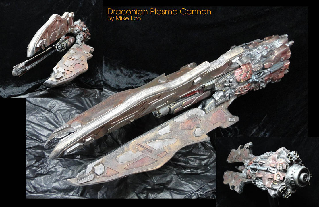The Draconian Plasma Cannon 01 by Uratz-Studios