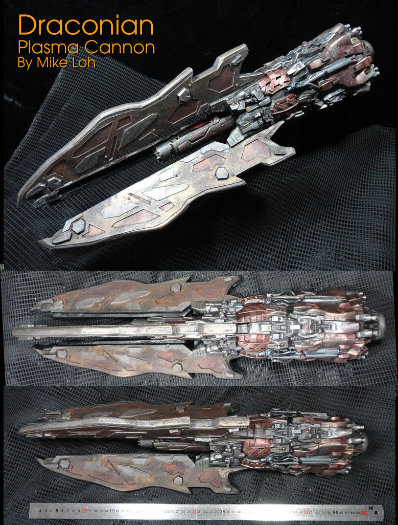 The Draconian Plasma Cannon 02 by Uratz-Studios