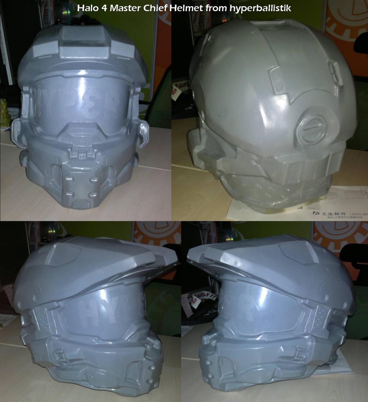 Masterchief helmet from hyperballistik by uratz studios on - Uratz studios ...