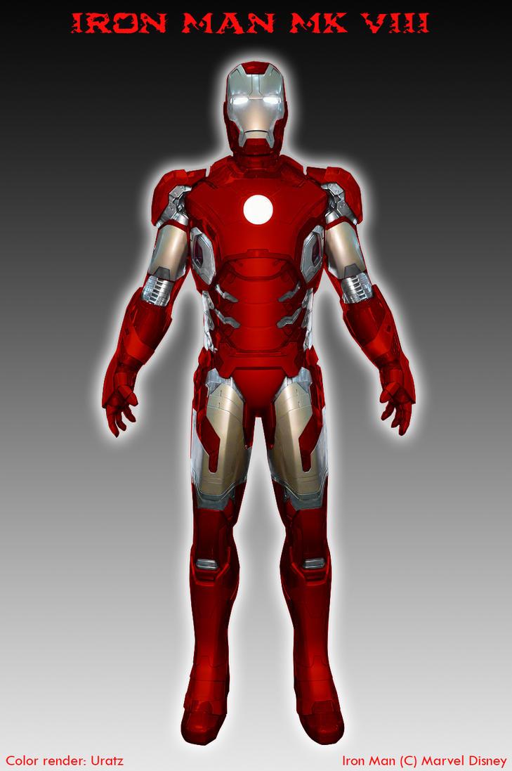 Iron man mk 8 recolored by uratz studios on deviantart - Uratz studios ...