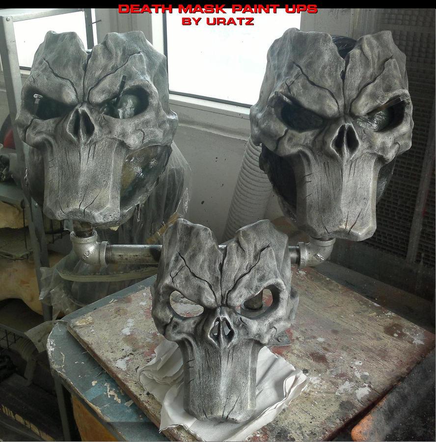 Death mask paintupz by uratz studios on deviantart - Uratz studios ...