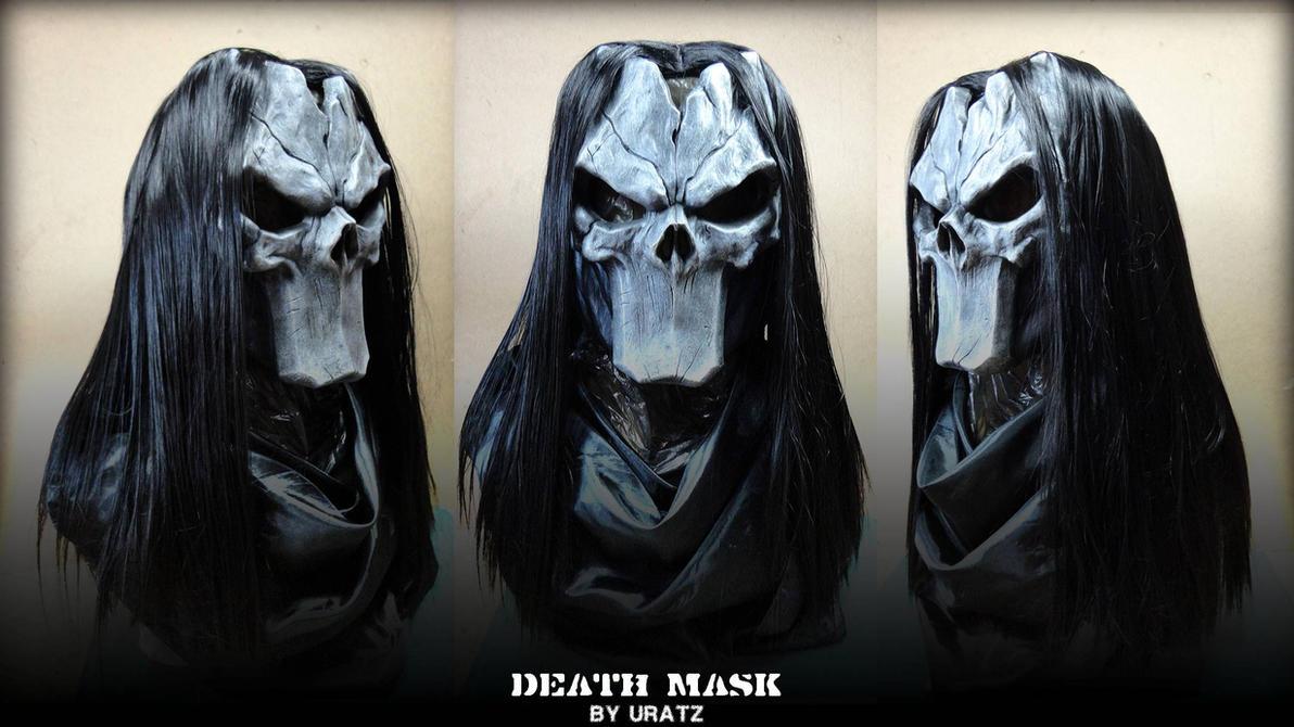 Darksiders Death Bust Mask by Uratz-Studios on DeviantArt