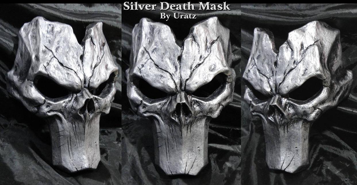 Silver Death Mask Darksiders 2 by Uratz-Studios
