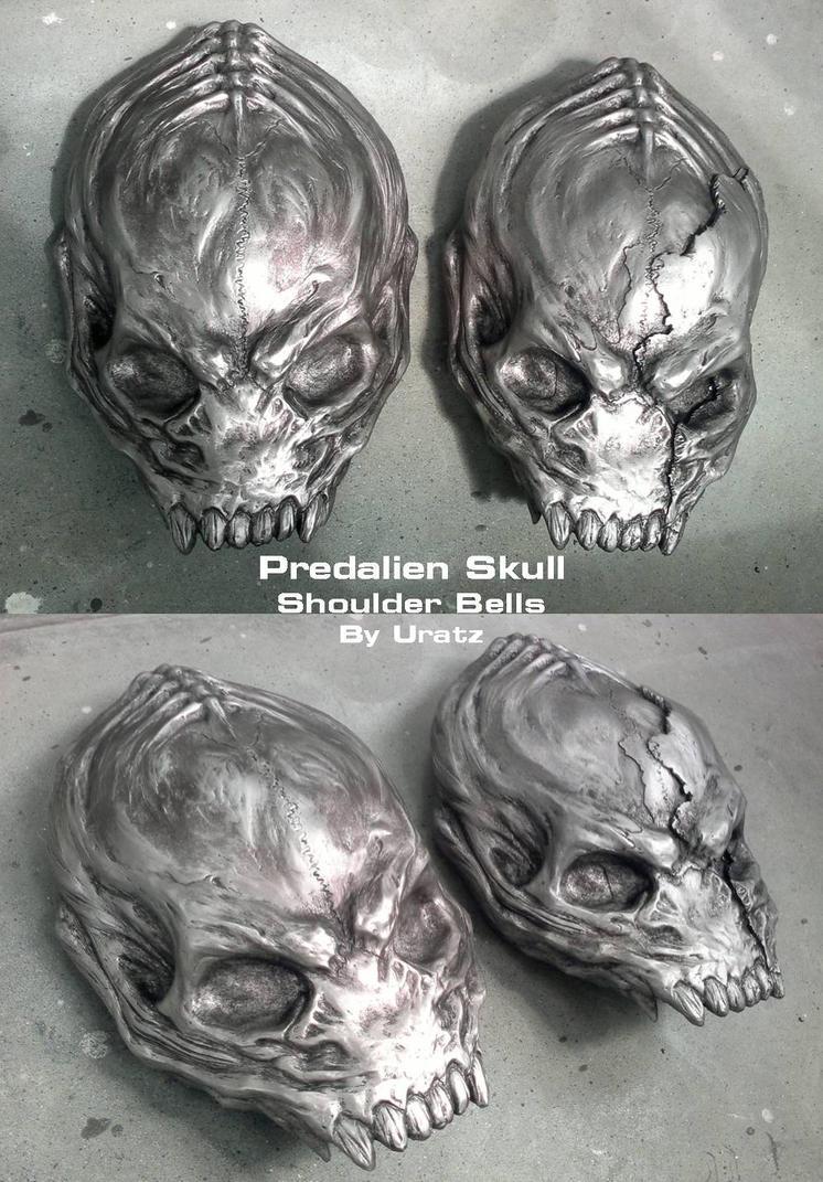 Predalien skull for hellwolve by uratz studios on deviantart - Uratz studios ...