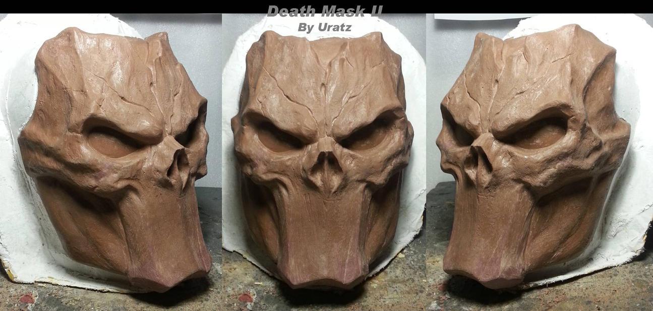Death Mask ReSculpt by Uratz-Studios