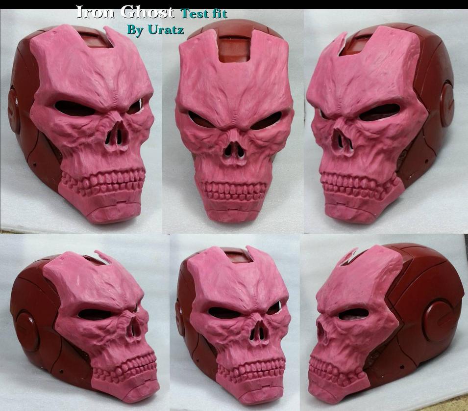 Iron ghost wip helmet by uratz studios on deviantart - Uratz studios ...