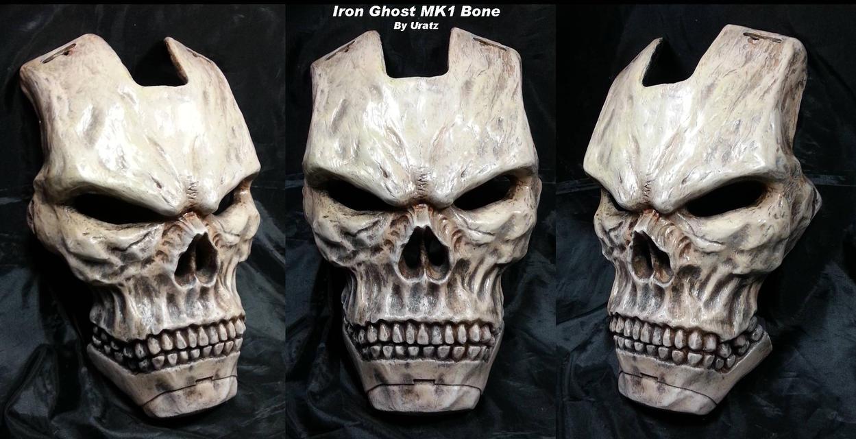 Iron ghost bone carapace by uratz studios on deviantart - Uratz studios ...
