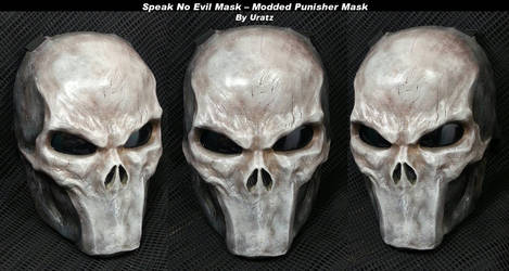 Silent Mouth Punisher Mask