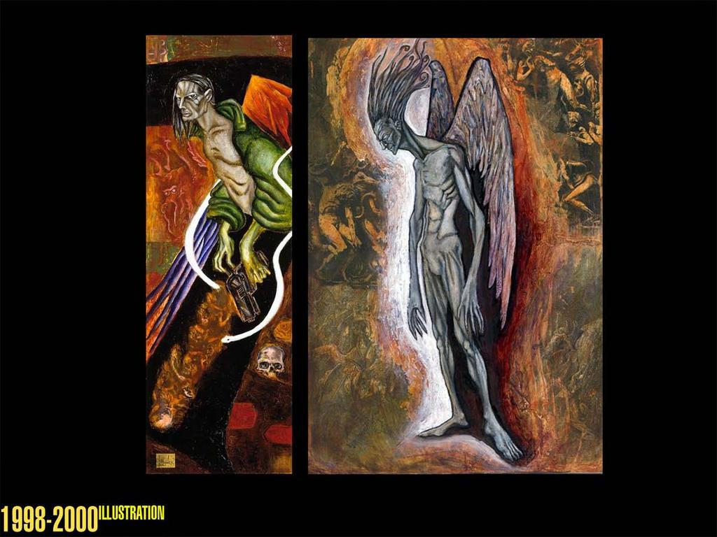 Angel of death tribute by uratz studios on deviantart - Uratz studios ...