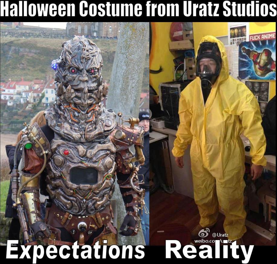 Uratz halloween costume expectations by uratz studios on - Uratz studios ...