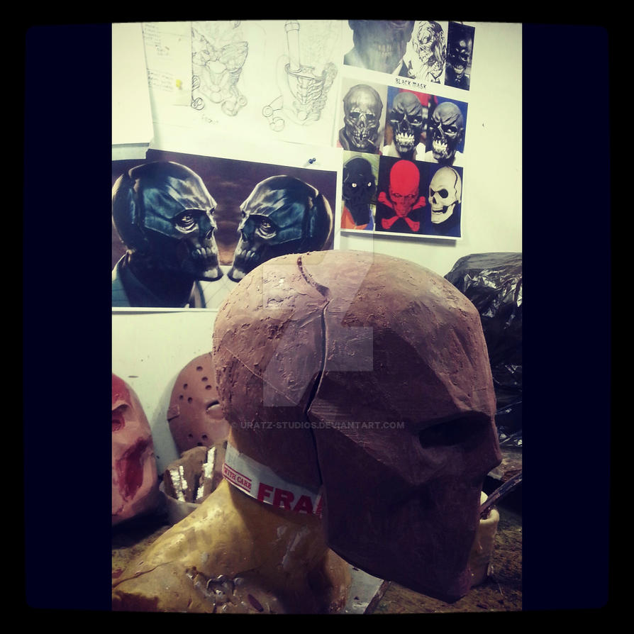 Black mask wip by uratz studios on deviantart - Uratz studios ...