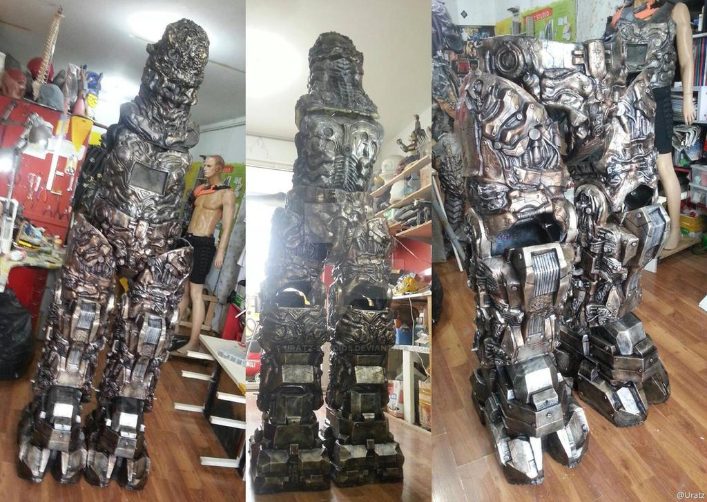Cyberlord near completion details by uratz studios on - Uratz studios ...