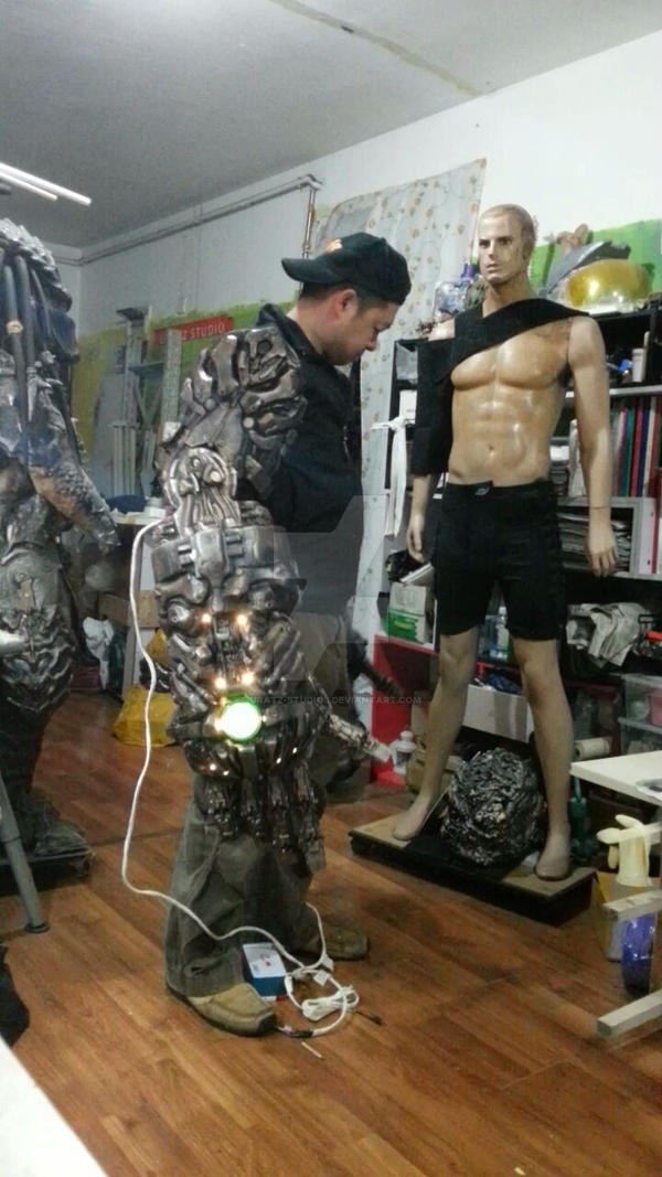 Big robot mech arms by uratz studios on deviantart - Uratz studios ...