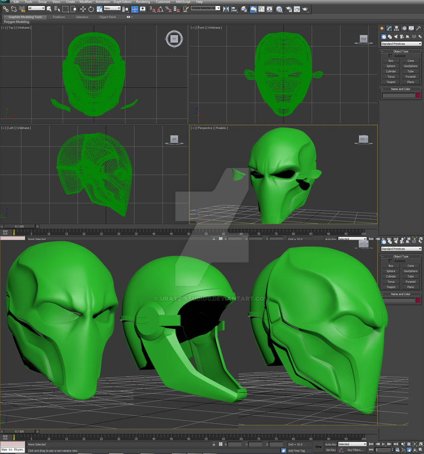 Deathstroke wip by uratz studios on deviantart - Uratz studios ...