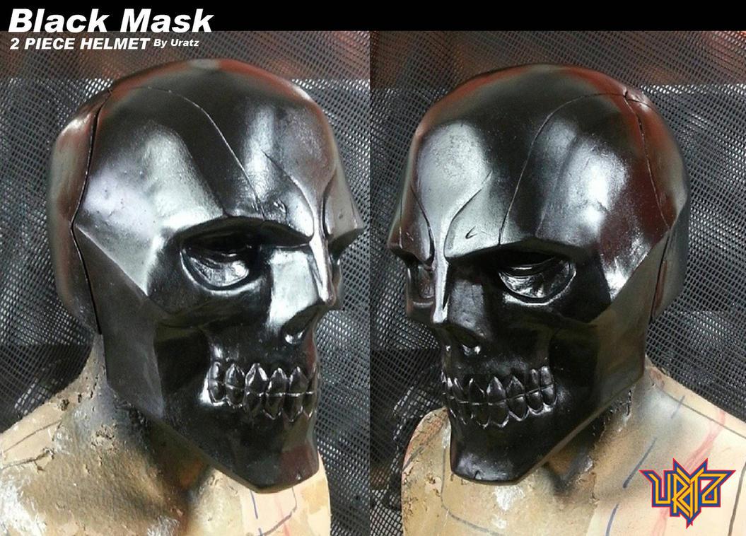 Blackmask helmet by uratz studios on deviantart - Uratz studios ...