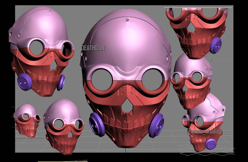 Death gun mask by uratz studios on deviantart - Uratz studios ...