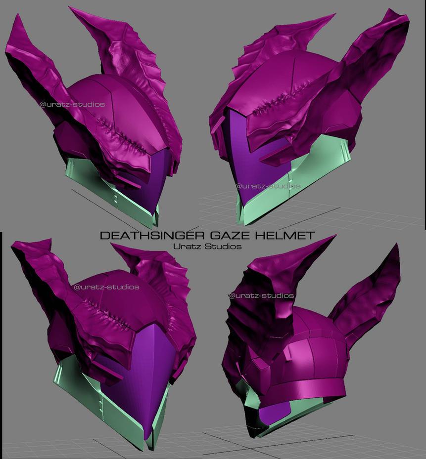 Deathsinger gaze helmet by uratz studios on deviantart - Uratz studios ...