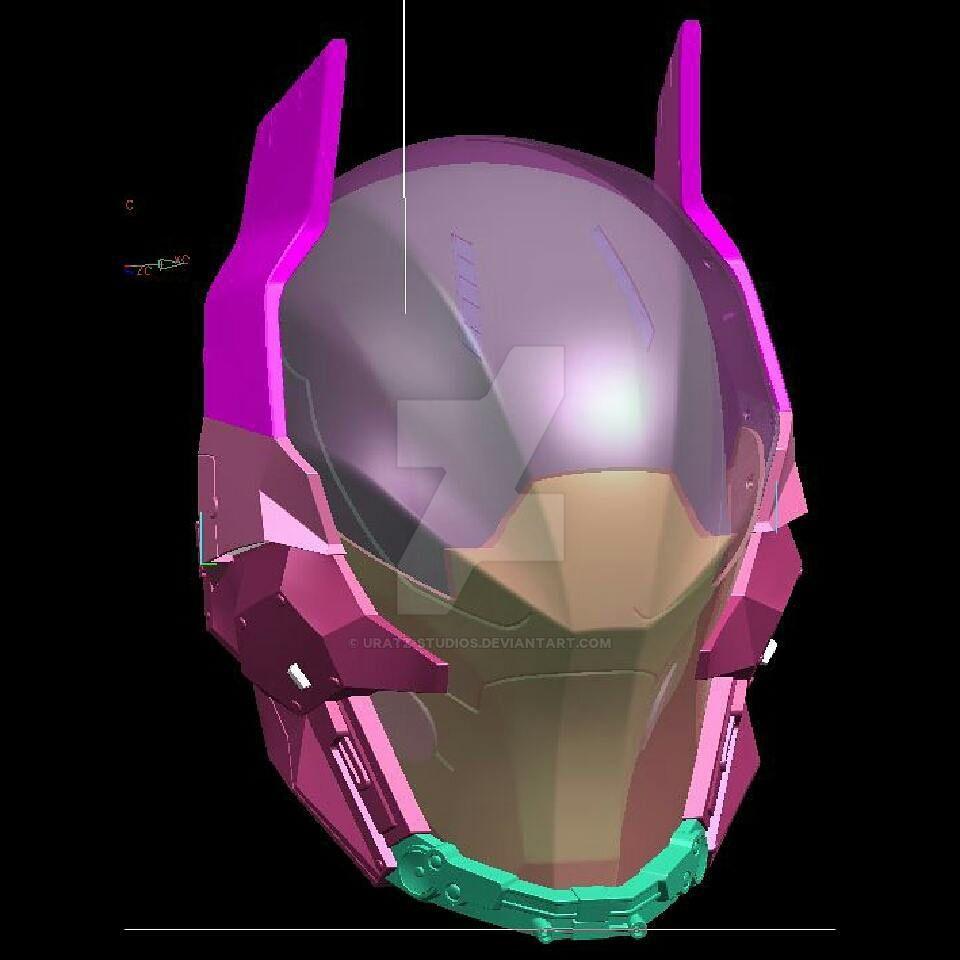 Arkham knight wip by uratz studios on deviantart - Uratz studios ...